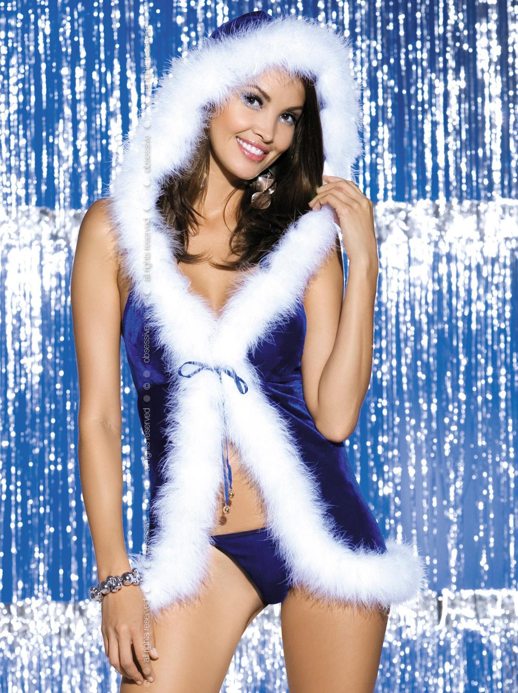 Новогодние костюмы эротических снегурочек